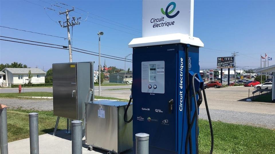 Borne de recharge électrique de Sainte-Anne-des-Monts