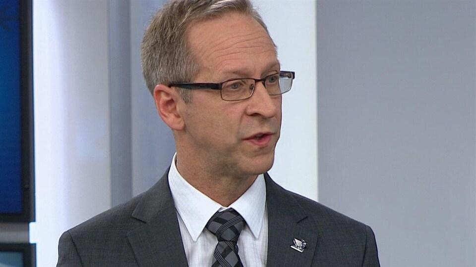 Claude Boulanger est président-directeur général de l'aluminerie Alouette.