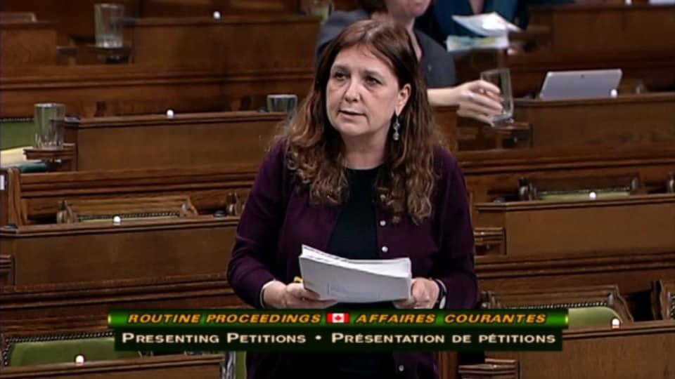 Marjorlaine Boutin-Sweet, députée du NPD
