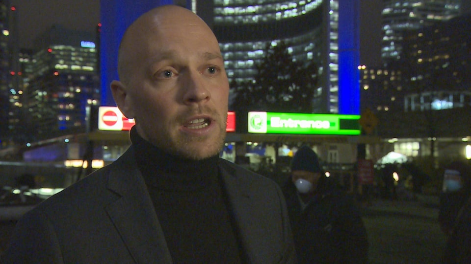 Le conseiller municipal de Toronto, Brad Bradford.