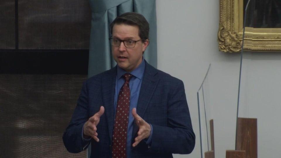 Brad Trivers, ministre du Développement social et du Logement de l'Île-du-Prince-Édouard.
