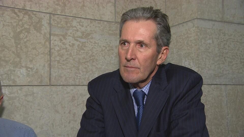 Le premier ministre du Manitoba Brian Pallister