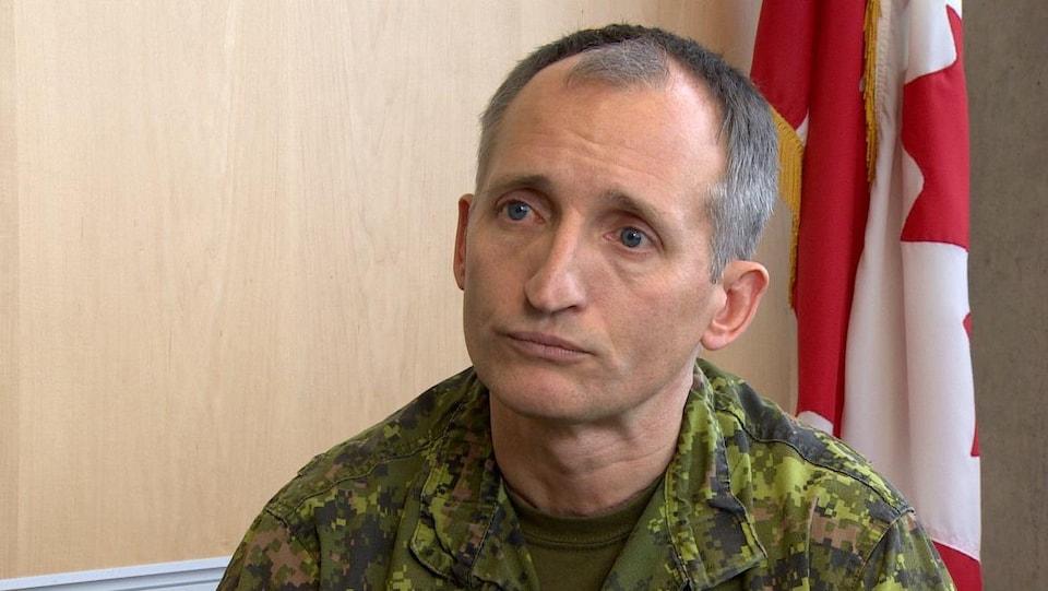Le lieutenant-général Trevor Cadieu.