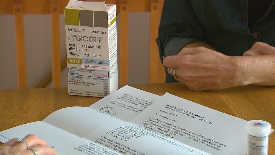 Brigitte Guibord fait des démarches pour «obtenir les bons traitements».