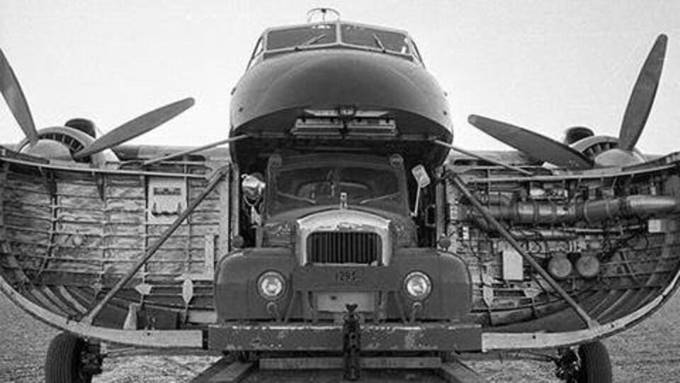 Une photo d'archives du Bristol Freighter.