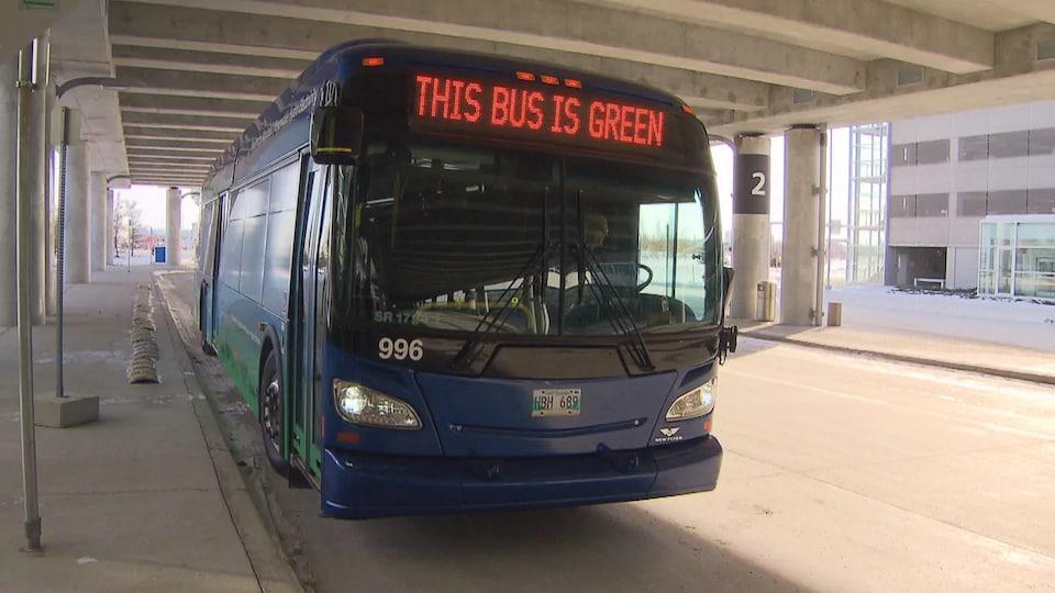 Un bus électrique.