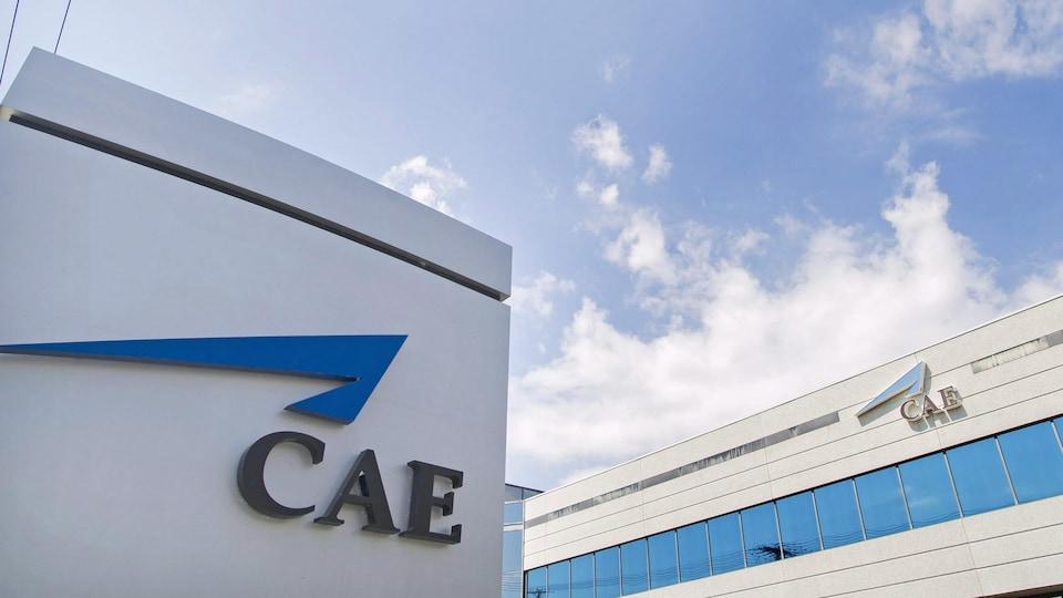 Les bureaux de CAE à Montréal.