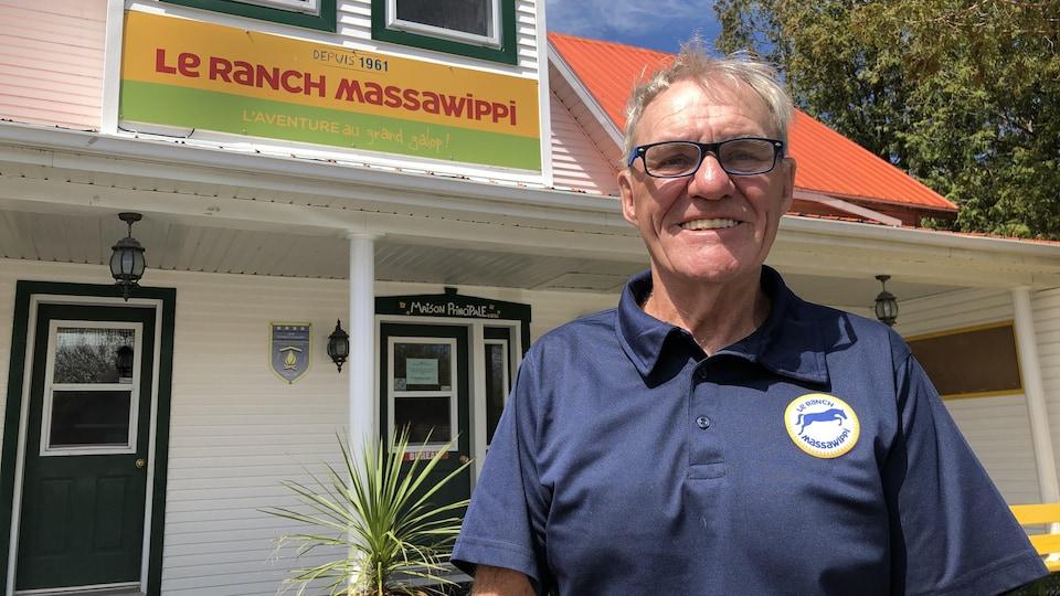 Guy Mercier, propriétaire et directeur général du ranch Massawippi.