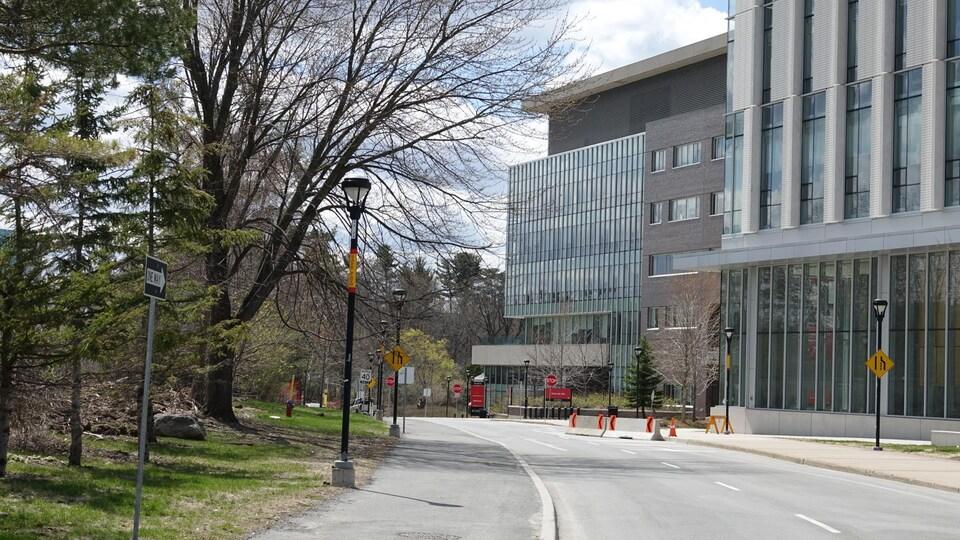 Le campus de l'Université Carleton.