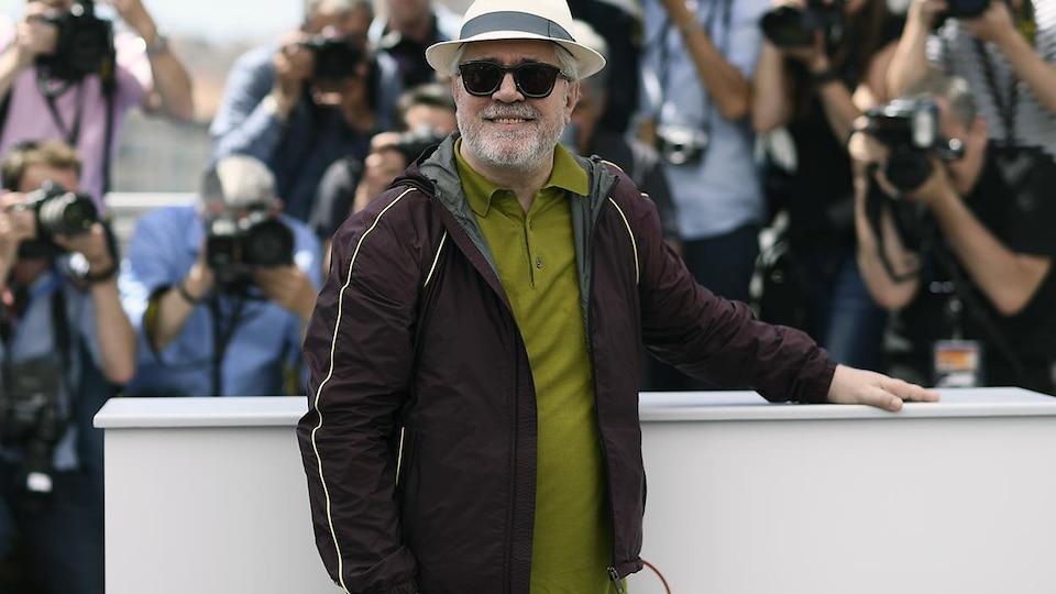 Pedro Almodovar au 70e Festival de Cannes