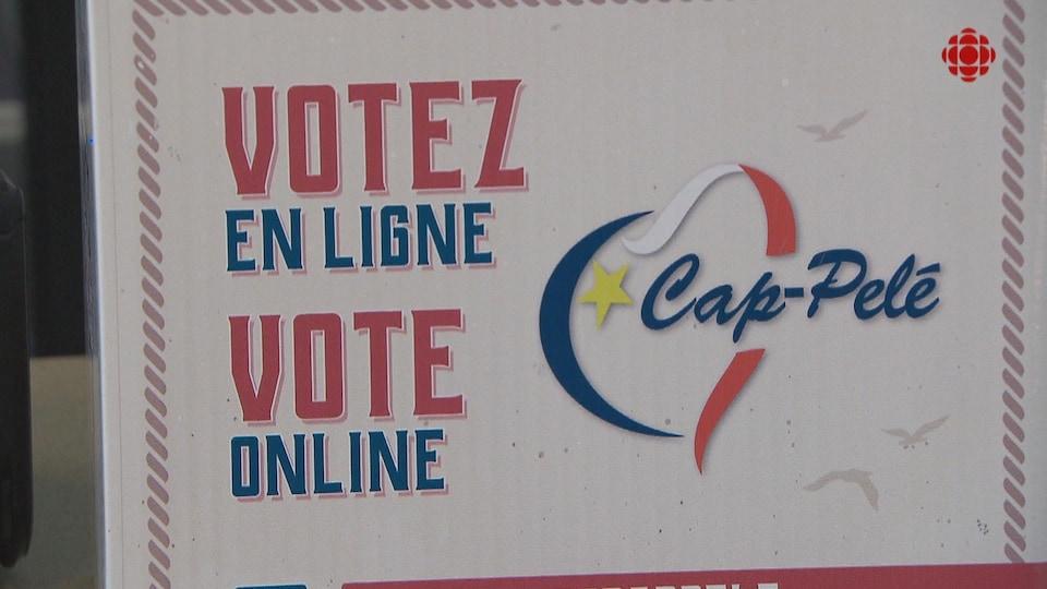 Affiche annonçant le concours à Cap-Pelé.