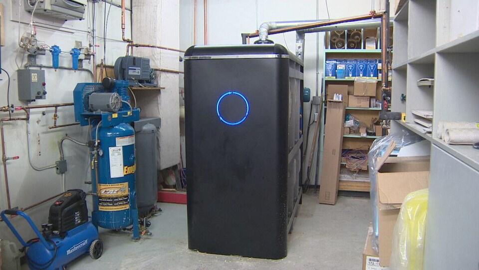Une unité CARBiNX de l'entreprise Clean02.