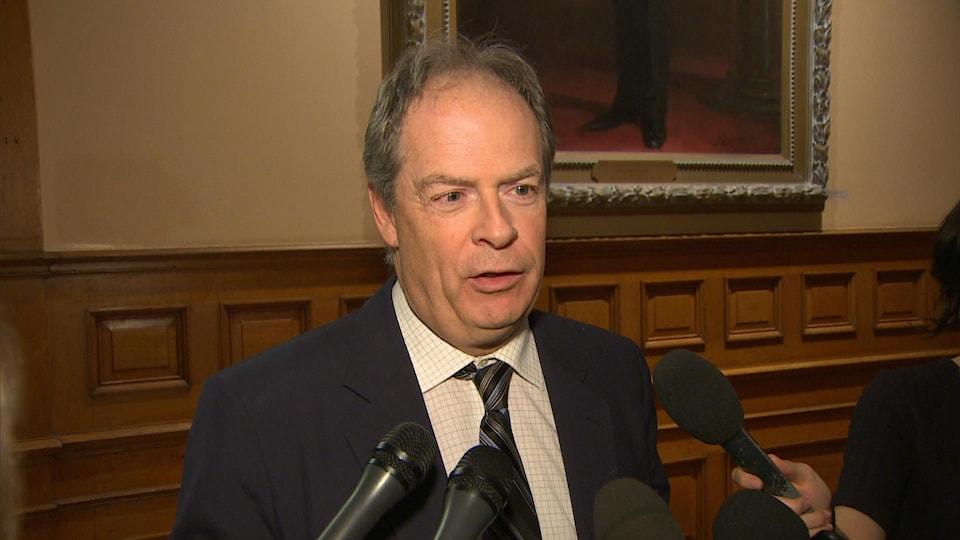 Le président de l'Assemblée de la francophonie de l'Ontario, Carol Jolin