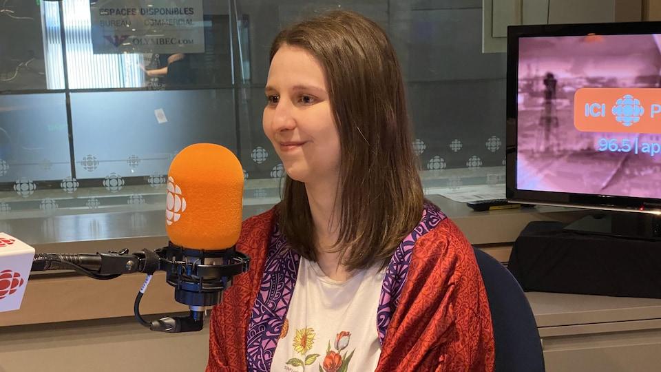 Carolanne Beaudoin en entrevue