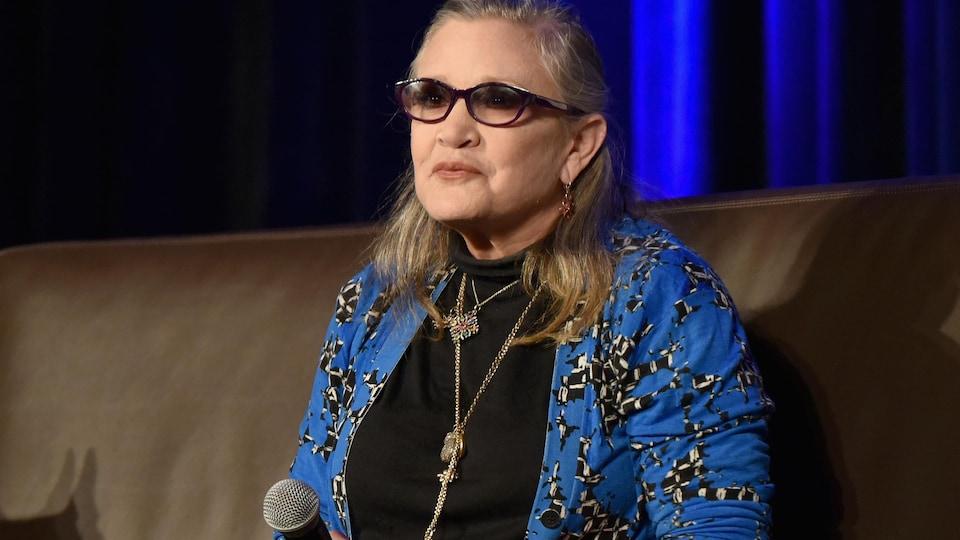 Carrie Fisher au Wizard World Comic Con Chicago 2016 en août dernier