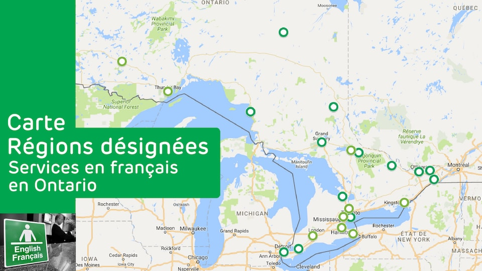 Photo d'une carte Google