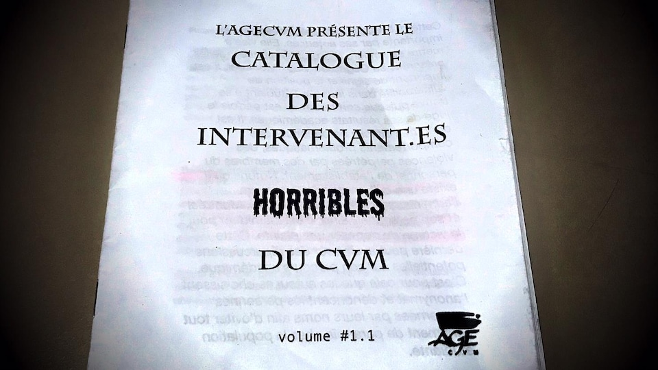Page couverture de la publication anonyme.
