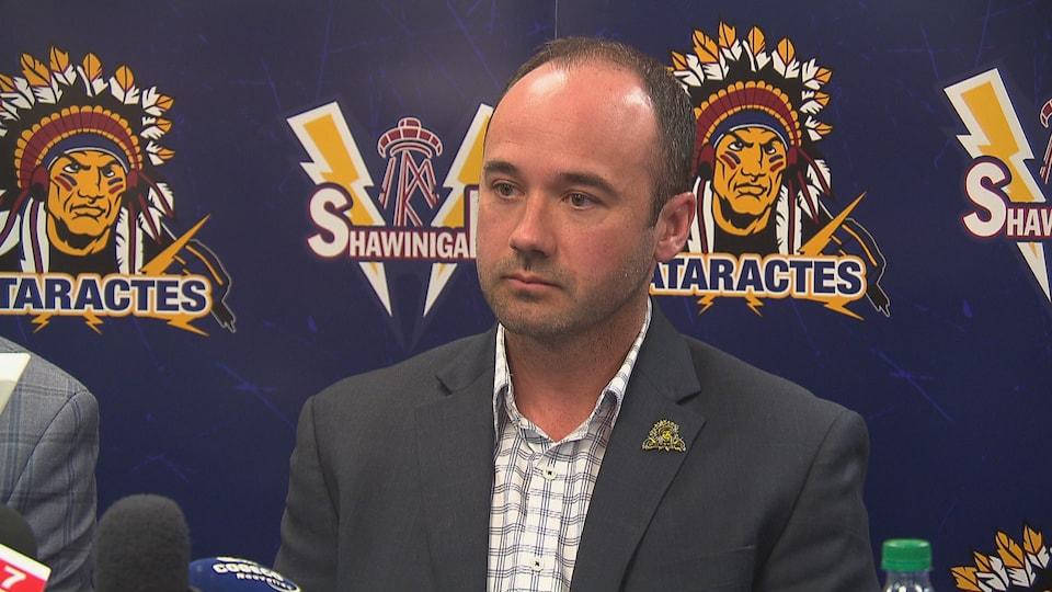 Daniel Renaud, l'ancien entraîneur-chef de Cataractes de Shawinigan