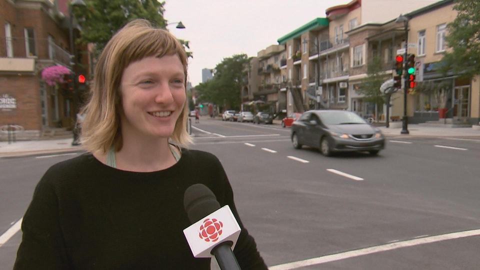Catherine Dorion, candidate de Québec solidaire dans Taschereau.