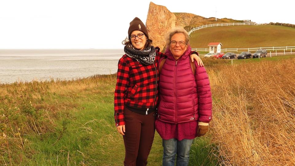 Catherine Gauthier-Dion et Laura Sadowsky sont originaires de Québec, mais vivent maintenant en Gaspésie.