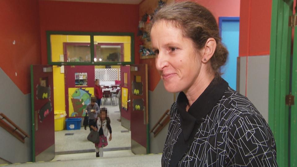 Catherine Gélineau, directrice de l'école Saint-Jean-Baptiste