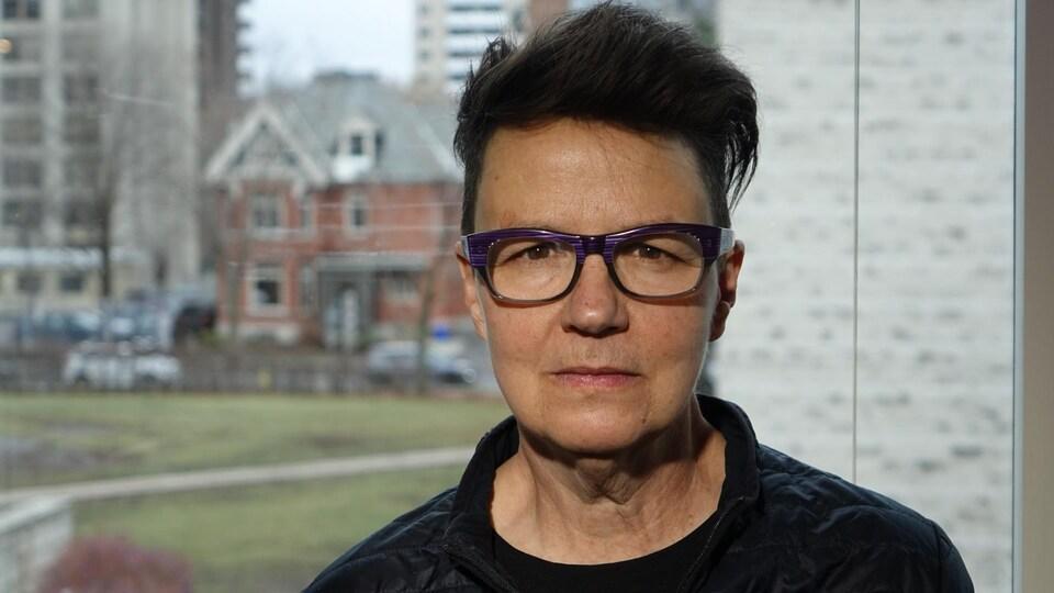 Catherine McKenney dans son bureau de l'hôtel de ville d'Ottawa.