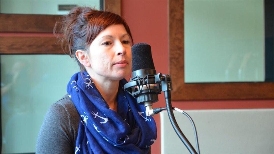Cathy Gélinas, présidente de la Coalition d'aide à la communauté LGBT en Abitibi-Témiscamingue