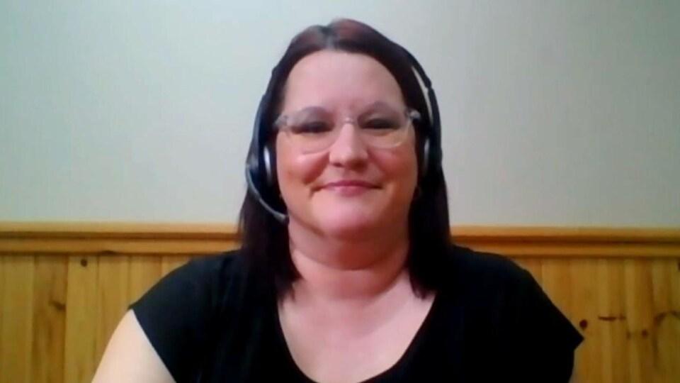Cathy Pelletier, directrice générale de la Chambre de commerce de la région d'Edmundston.