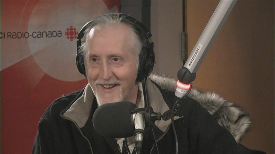 Bertrand Nayet de l'Association des auteur·e·s du Manitoba français (AAMF).