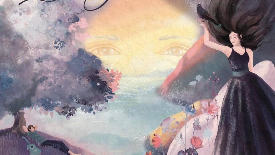 Le jardin est un album du duo Normand et le merle qui reprend des pièces de Georges Moustaki.