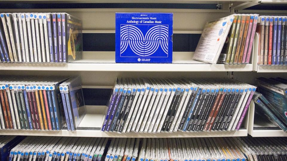 Radio-Canada a déjà produit des centaines de disques de musique classique.