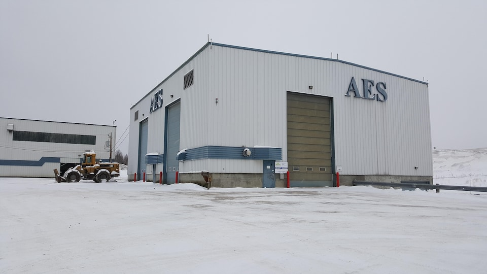 Le centre de tri de Saguenay