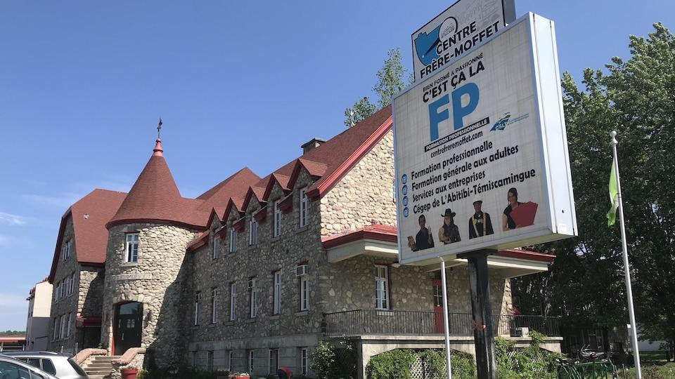 Le Centre Frère-Moffet au Témiscamingue.
