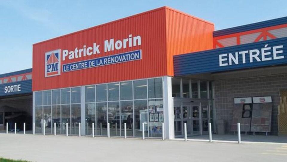 Un centre de la rénovation Patrick Morin.