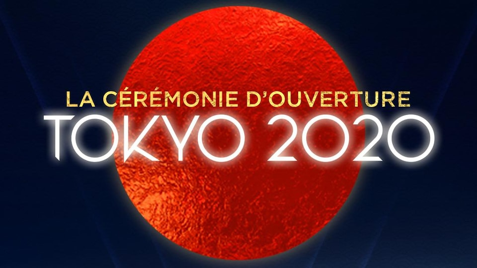 Le logo de la diffusion des Jeux olympiques de Tokyo à Radio-Canada.