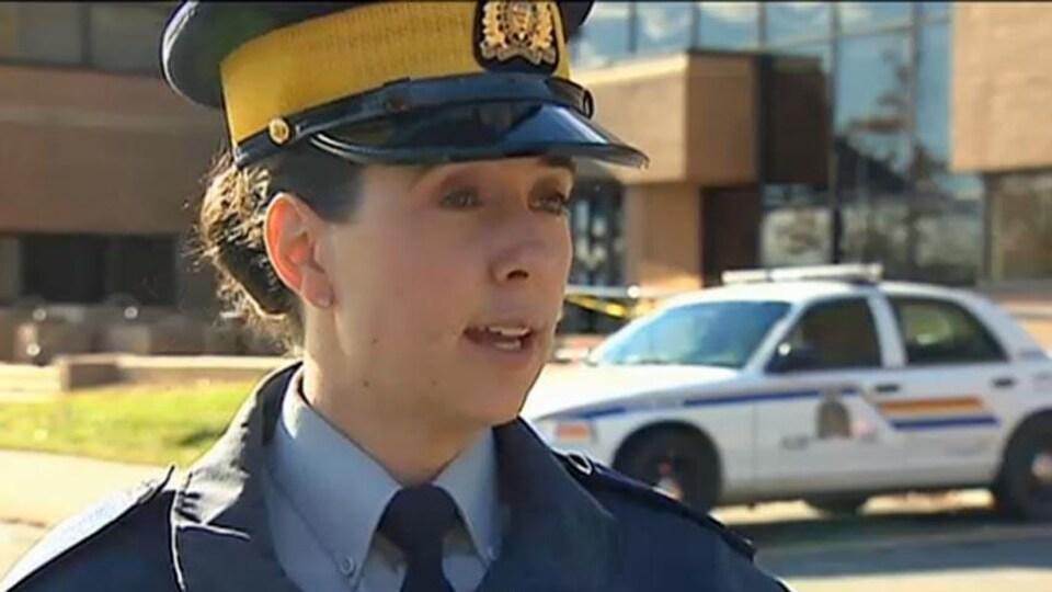 La policière Chantal Farrah