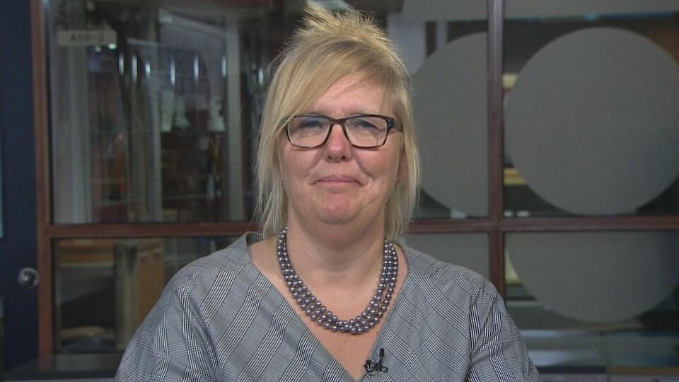Chantal Labrecque, présidente, Regroupement québécois en soins de plaies.
