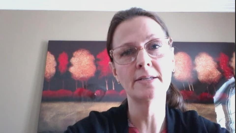 Chantal Lagacé, infirmière auxiliaire accrédité, membre du conseil exécutif du SCFP 1252.