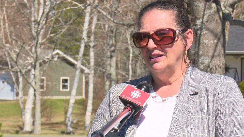 La conseillère municipale Chantal Mazerolle.