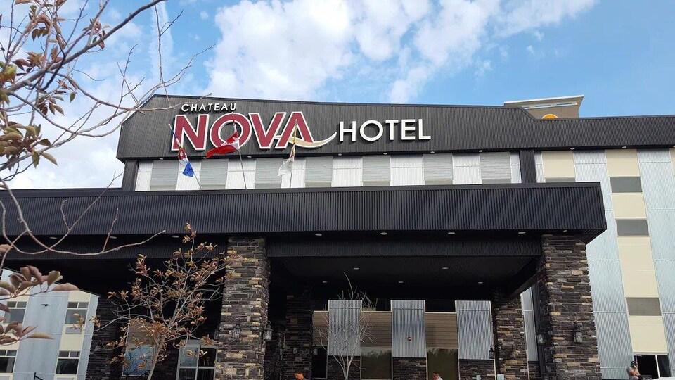 L'hôtel Chateau Nova.
