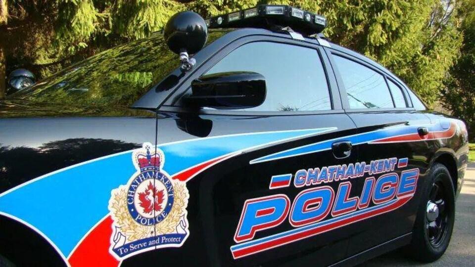 Une autopatrouille aux couleurs de la police locale