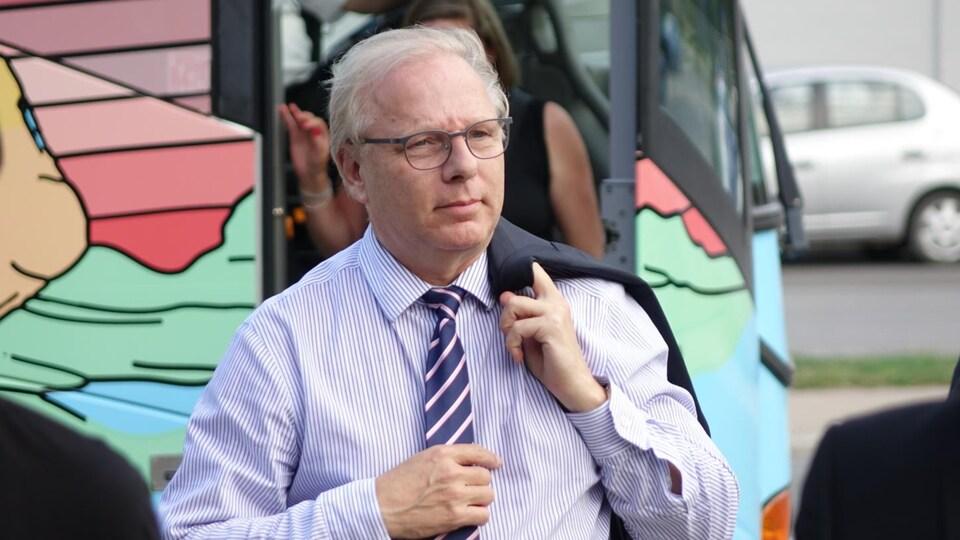 Le chef du Parti Québécois, Jean-François Lisée.