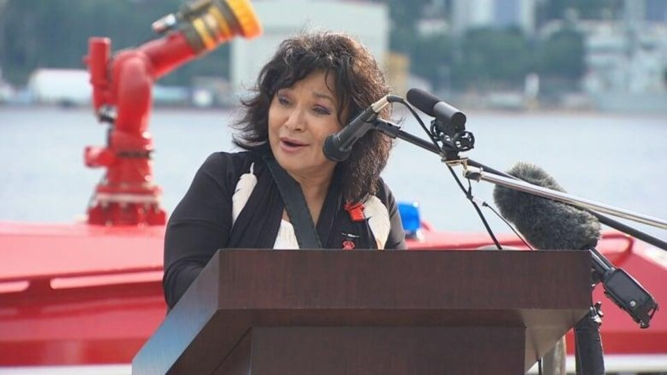 Deborah Robinson, chef de l'Assemblée des chefs mi'kmaq de la Nouvelle-Écosse.
