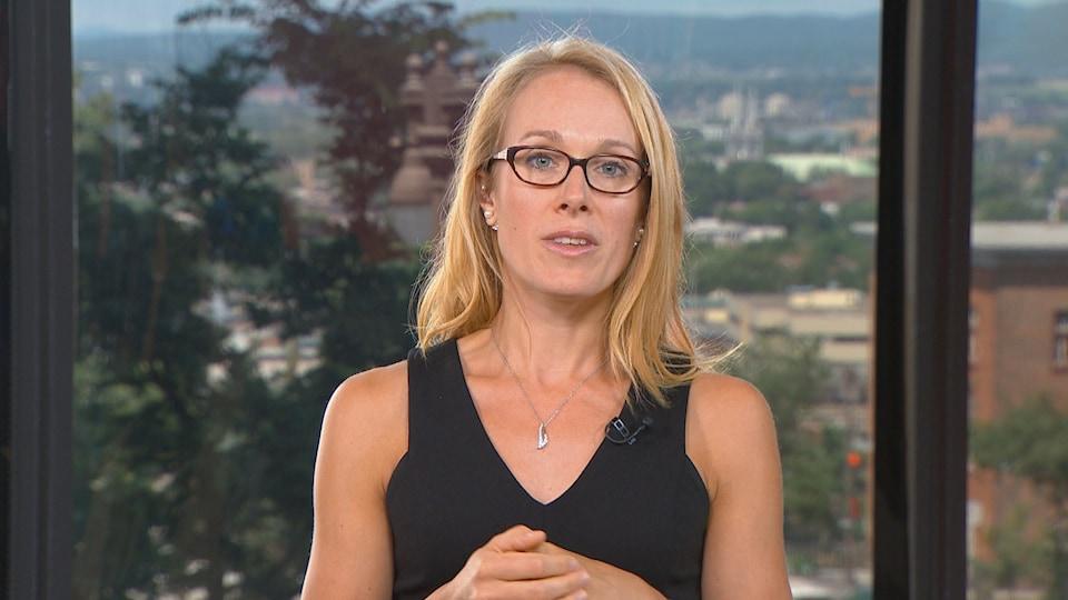 La chercheuse Jacinthe Leclerc