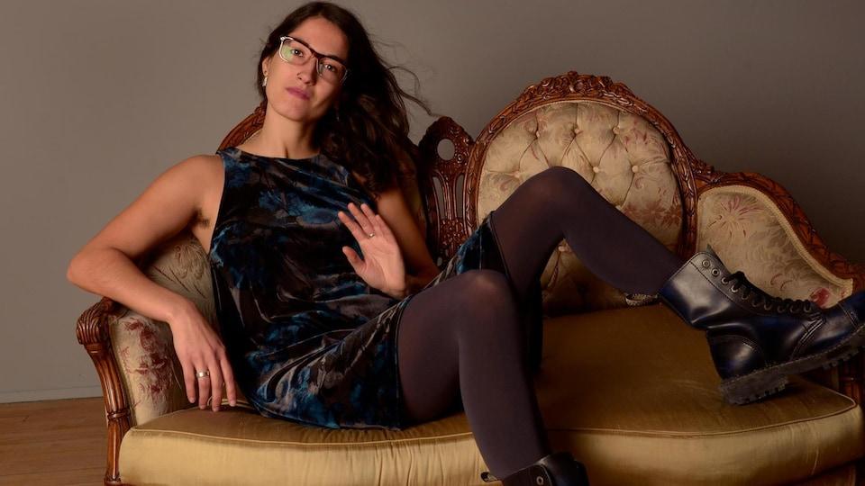 Chloé Leduc-Bélanger alias Chloé LaDuchesse.