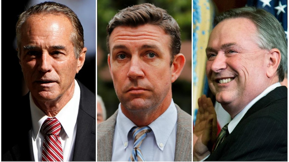 Chris Collins, Duncan Hunter et Steve Stockman