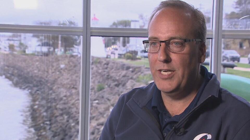 Chris d'Entremont, candidat du Parti conservateur du Canada dans Nova-Ouest.