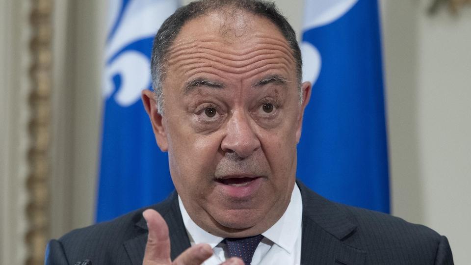 Le ministre de la Santé, Christian Dubé.