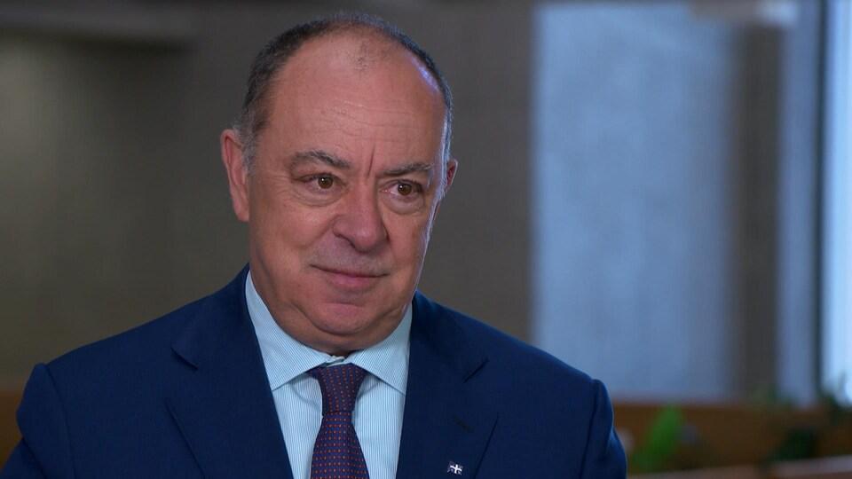 Le président du Conseil du Trésor, Christian Dubé.