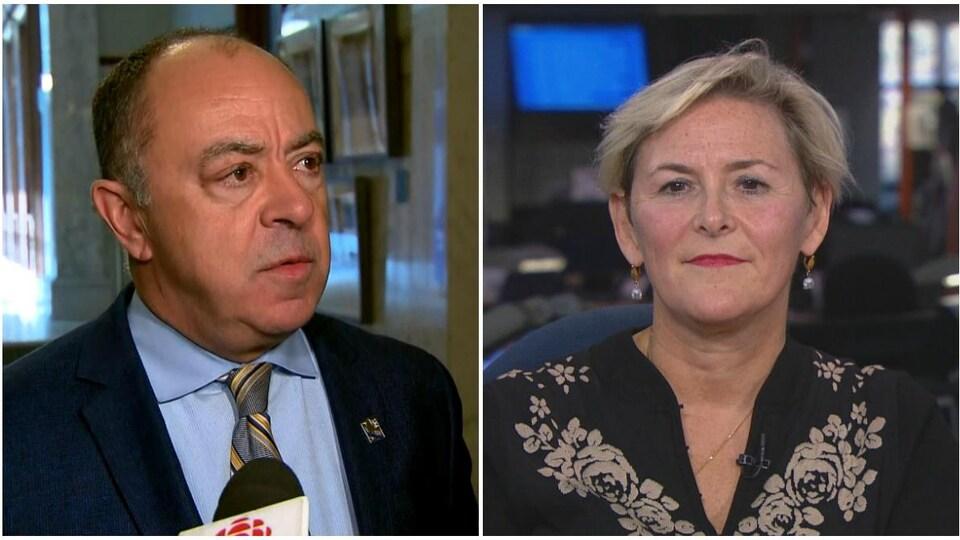 Christian Dubé et Diane Francoeur.